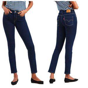 LEVI'S 312 Shaping Slim Straight Leg Blue Jeans